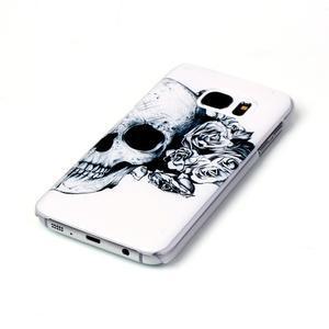 Plastový obal na mobil Samsung Galaxy S7 - lebka - 2