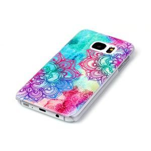 Plastový obal na mobil Samsung Galaxy S7 - mandala - 2