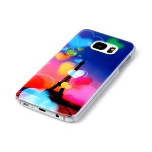Plastový obal na mobil Samsung Galaxy S7 - Eiffelova věž - 2