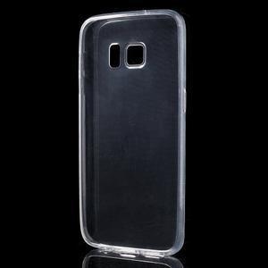 Ultratenký gelový obal na mobil Samsung Galaxy S7 - transparentní - 2