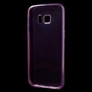 Ultratenký gélový obal pre mobil Samsung Galaxy S7 - ružový - 2