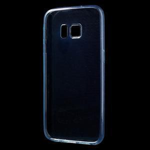 Ultratenký gélový obal pre mobil Samsung Galaxy S7 - zelený - 2