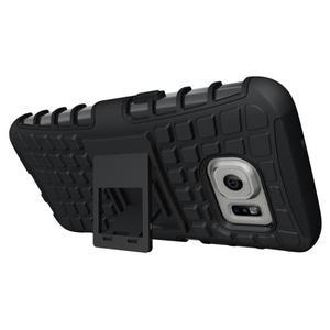 Outdoor odolný obal na mobil Samsung Galaxy S7 - černý - 2