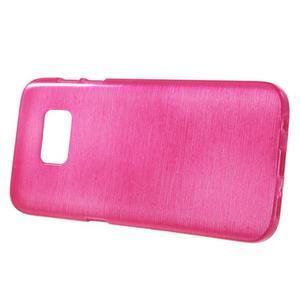 Brush gelový obal na mobil Samsung Galaxy S7 - rose - 2