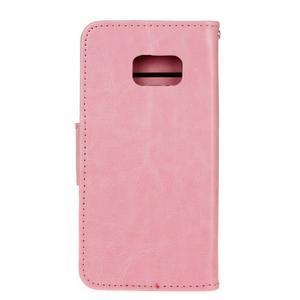 Stand peněženkové pouzdro na Samsung Galaxy S7 - růžové - 2