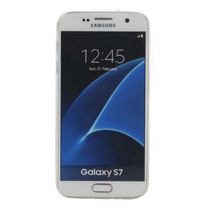 Pictu gelový obal na mobil Samsung Galaxy S7 - malované květiny - 2