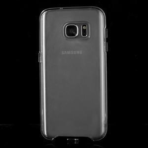 Dvoudílný obal na mobil Samsung Galaxy S7 - černý - 2
