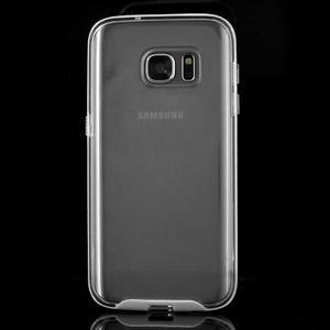 Dvoudílný obal na mobil Samsung Galaxy S7 - transparentní - 2