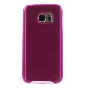 Dvoudílný obal na mobil Samsung Galaxy S7 - rose - 2