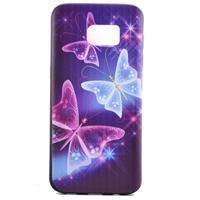 Backy gélový obal pre Samsung Galaxy S7 edge - čarovné motýle - 2/6