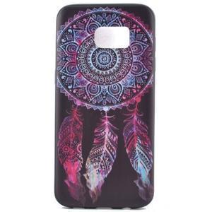 Backy gelový obal na Samsung Galaxy S7 edge - lapač snů - 2