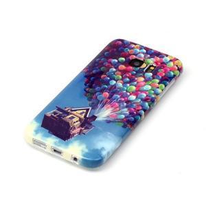 Softy gelový obal na Samsung Galaxy S7 edge - nafukovací baónky - 2