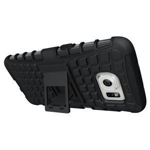 Odolný outdoor kryt na Samsung Galaxy S7 edge - černý - 2