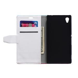 peňaženkové puzdro pre Sony Xperia M4 Aqua - elegance - 2