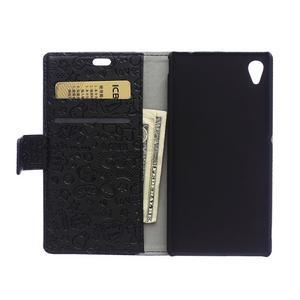 Černé texturované pouzdro na Sony Xperia M4 Aqua - 2