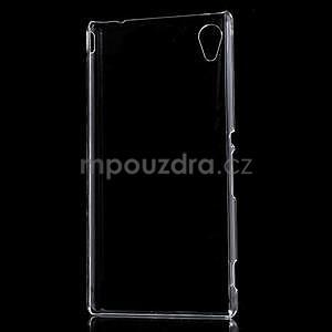 Transparentní plastový obal na Sony Xperia M4 Aqua - 2
