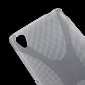 transparentné gélový obal pre Sony Xperia M4 Aqua - 2