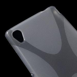 sivý gélový obal pre Sony Xperia M4 Aqua - 2