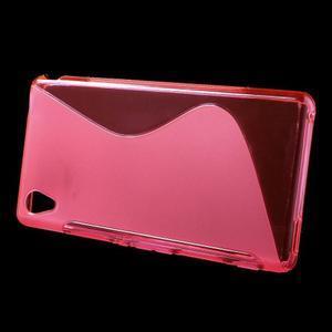 Rose s-line pružný obal pre Sony Xperia M4 Aqua - 2