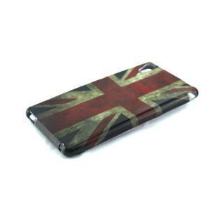 Gelový kryt na Sony Xperia M4 Aqua - UK vlajka - 2