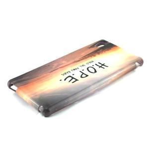 Gélový kryt pre Sony Xperia M4 Aqua - H.O.P.E. - 2