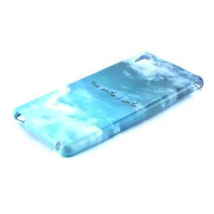 Gélový kryt pre Sony Xperia M4 Aqua - úsmev - 2