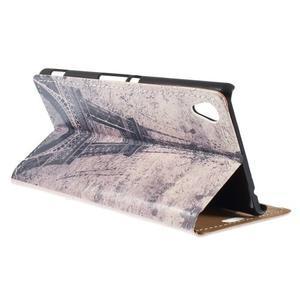 Peňaženkové puzdro pre Sony Xperia M4 Aqua - koruna motýľ - 2