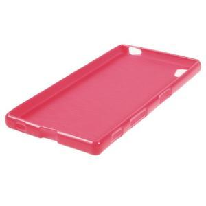 Gloss lesklý gélový obal pre Sony Xperia Z5 - rose - 2