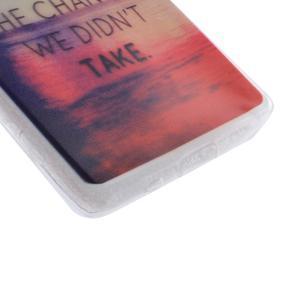 Gelový obal na mobil Sony Xperia Z5 - regret - 2