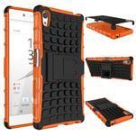Outdoor odolný obal na Sony Xperia Z5 - oranžový - 2/2