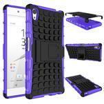 Outdoor odolný obal pre Sony Xperia Z5 - fialový - 2/2