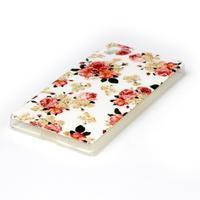 Softy gélový obal pre mobil Sony Xperia Z5 - kvetiny - 2/3