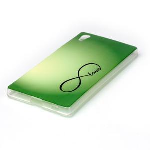 Softy gélový obal pre mobil Sony Xperia Z5 - love - 2