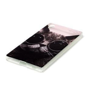 Softy gélový obal pre mobil Sony Xperia Z5 - cool kočká - 2
