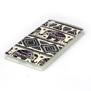 Softy gélový obal pre mobil Sony Xperia Z5 - slon - 2