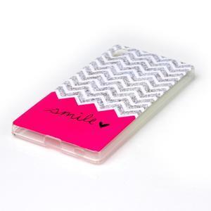 Softy gélový obal pre mobil Sony Xperia Z5 - smile - 2