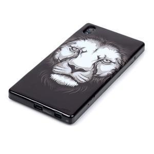 Blacky gélový obal pre mobil Sony Xperia Z5 - lev - 2