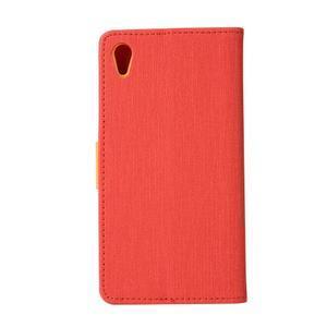 Dualis puzdro pre mobil Sony Xperia Z5 - červené - 2