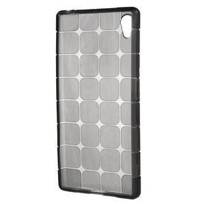 Square gélový obal pre Sony Xperia Z5 - sivý - 2
