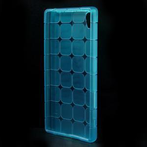 Square gélový obal pre Sony Xperia Z5 - modrý - 2