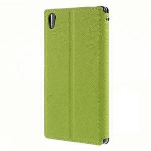 Diary pouzdro s okýnkem na Sony Xperia Z5 - zelené - 2