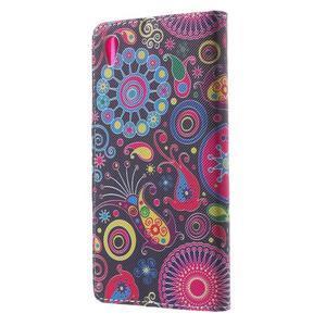 Lovely puzdro pre mobil Sony Xperia Z5 - farebné kruhy - 2
