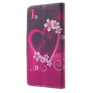 Lovely puzdro pre mobil Sony Xperia Z5 - srdce - 2