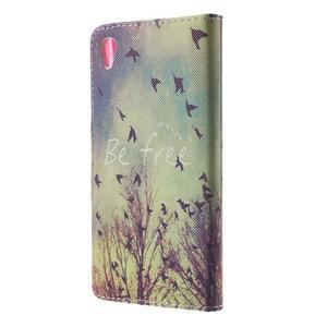 Lovely puzdro pre mobil Sony Xperia Z5 - vtáčiky - 2