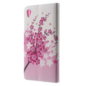 Lovely puzdro pre mobil Sony Xperia Z5 - kvitnúce vetvička - 2