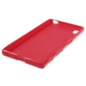 Gloss lesklý gélový obal pre Sony Xperia Z5 - červený - 2