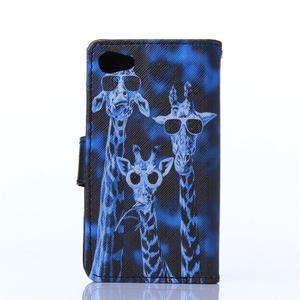 Sand pouzdro na mobil Sony Xperia Z5 Compact - žirafy - 2