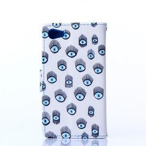 Sand puzdro pre mobil Sony Xperia Z5 Compact - modrá očká - 2