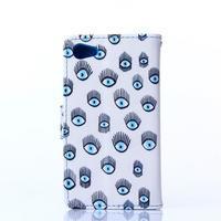 Sand puzdro pre mobil Sony Xperia Z5 Compact - modrá očká - 2/5