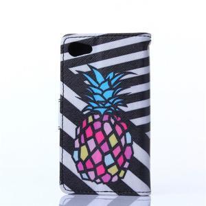 Sand pouzdro na mobil Sony Xperia Z5 Compact - barevný ananas - 2